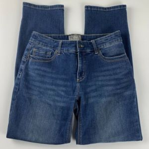 Chicos So Lifting Jeans Womens 0 Short Mid Rise